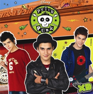 07 PETER PUNK Rock Bonnes (Disney Channel)